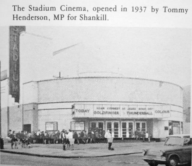 The Stadium Cinema, SHANKILL ROAD, BELFAST.   1960's