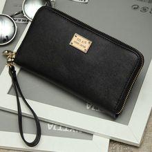 2016 Fashion neue marke frauen kupplung brieftaschen Leder schwarz handtaschen dame geldbörse/Card & ID Halter setzen telefon schminktäschchen //Price: $US $9.30 & FREE Shipping //     #dazzup