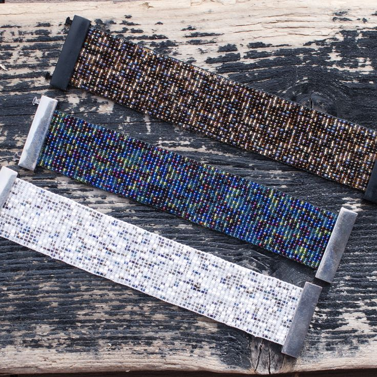 Bead looming, bracelet