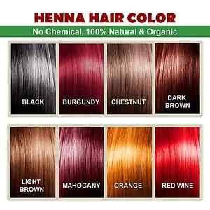 a color de pelo henna 100 libre de productos quimicos organicos y henna para el color del cabello y cuidado
