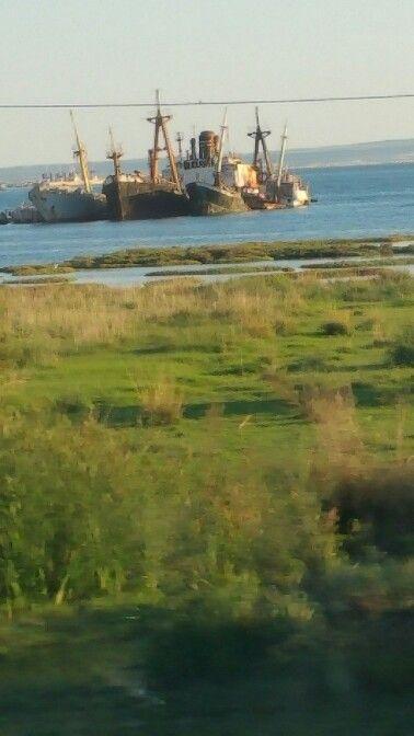 Ship's Graveyard Augusta Sicily