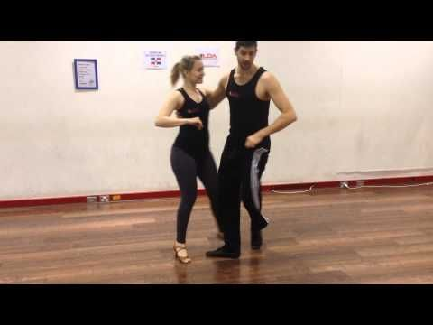 Advanced Salsa Moves #211 and #212 – The Left Handed Waiter and The Hot Potato | Salsa Ulysses