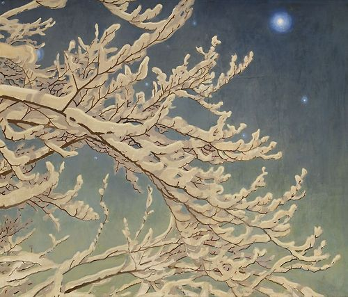 roberitatesac.wix… Gustaf Fjaestad (Swedish, 1868-1948), Vinternatt [Winter ni…