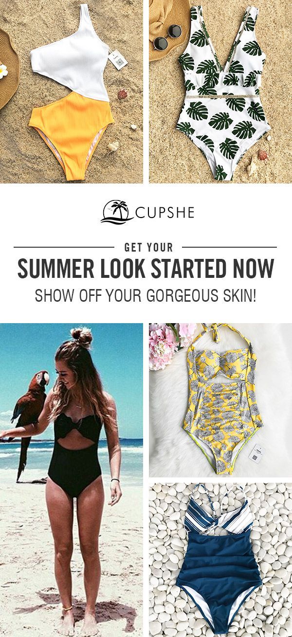 Start to shine~ These flattery swimwears are chic must-have of the year! Your pe... 2