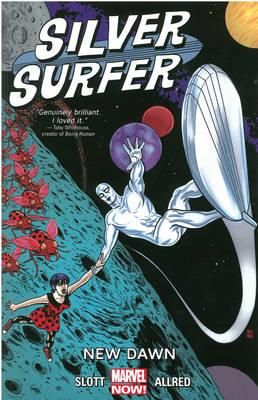 The universe is big. And the Silver Surfer, is about to discover the best way to see it is with someone else. Meet Dawn Greenwood, the Earth girl who's challenged the Surfer to go beyond the boundaries of the known universe! Who's the Never Queen? How is the universe's future tied into her very existence? And why is she trying to destroy the Surfer? And when the Surfer tries to return Dawn home, he gets swept into a strange battle against Shuma-Gorath alongside Dr. Strange, the Hulk and…