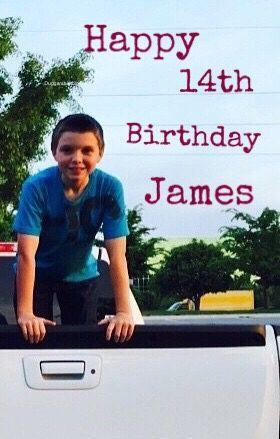 Happy 14th Birthday #JamesDuggar ! #Duggars #19KidsAndCounting