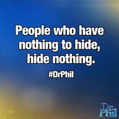 Dr. Phil quotes                                                                                                                                                     More