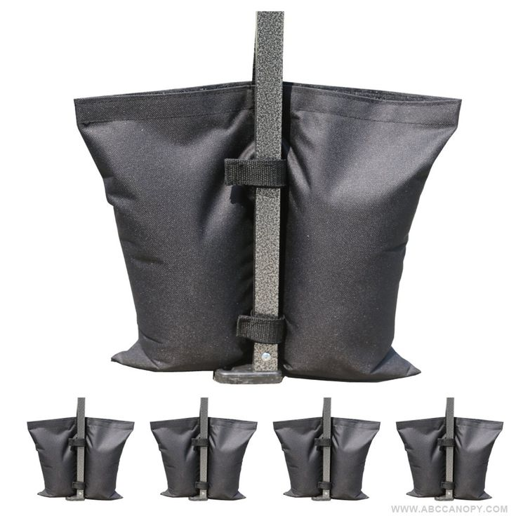 Industrial Grade AbcCanopy Weights Bag, Leg Weights for Pop up Canopy Tent Weighted Feet Bag Sand Bags 4pcs-pack