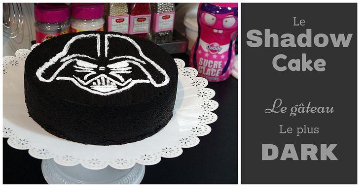 Le Shadow Cake est un gâteau avec un visuel très noir mais terriblement moelleux et fondant en bouche. Parfait pour la sortie du 7ème volet de Star Wars !