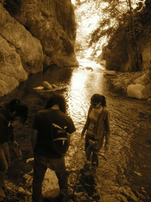 Azusa Canyons. We use to go here after school and do totally legal things....  http://www.ci.azusa.ca.us/index.aspx?NID=395