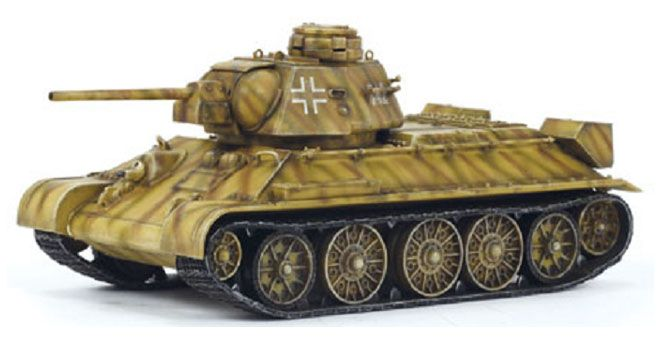Dragon Armor 1/72 German T34/76 Captured Model Tank 60216 | Antics Online Model Shop