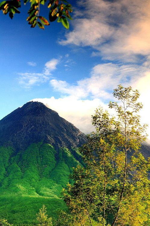 Climb Mt Merapi  the most active volcano in Indonesia