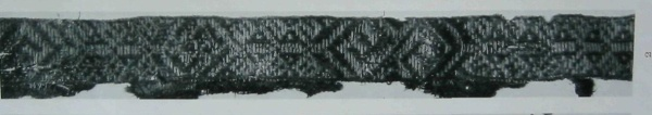 tablet weaving   Birka grave no. 943