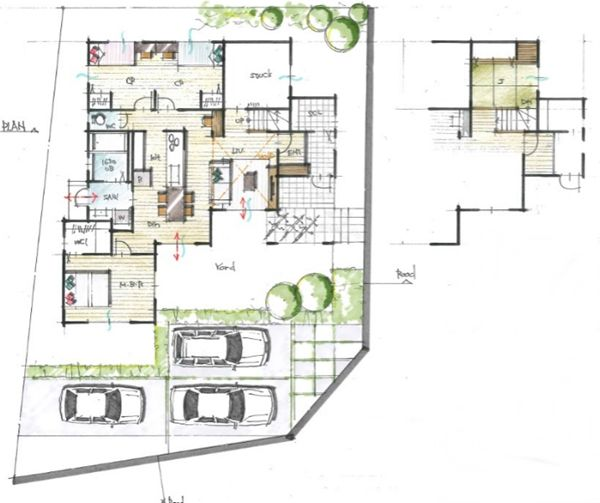 124 best 間取り images on Pinterest | Floor plans, House floor plans and ...