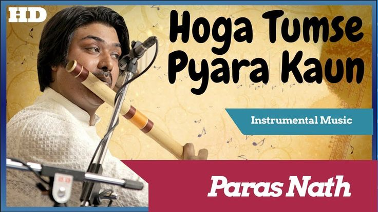 This instrumental music is played by Paras Nath  who is a well known flutist in the Indian music industry. The original song composed by great R.D.Burman and sung by Shailendra Singh. This song is from the movie Zamane ko dikhana hai. This was Padmini Kolhapure's debut film as a heroine.
