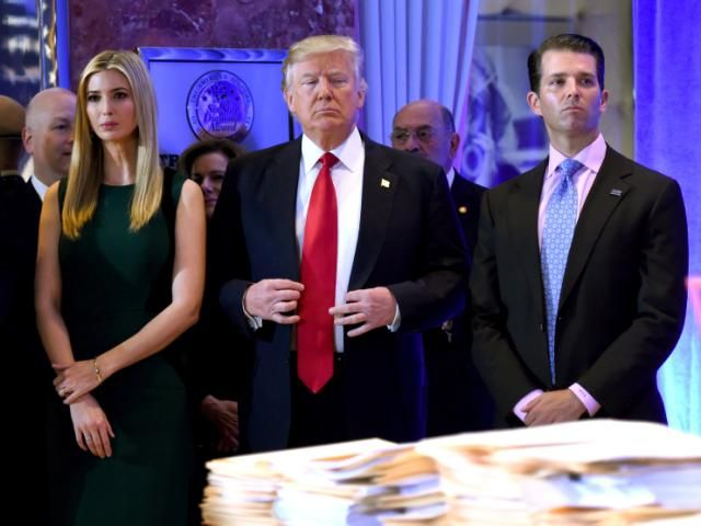 The Trump family had an email scandal brewing long before Hillary Clinton