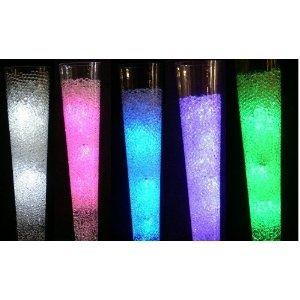 Rainbow light-up centerpieces!