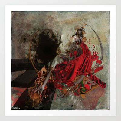 lussuria Art Print by bRIZZO - $22.88