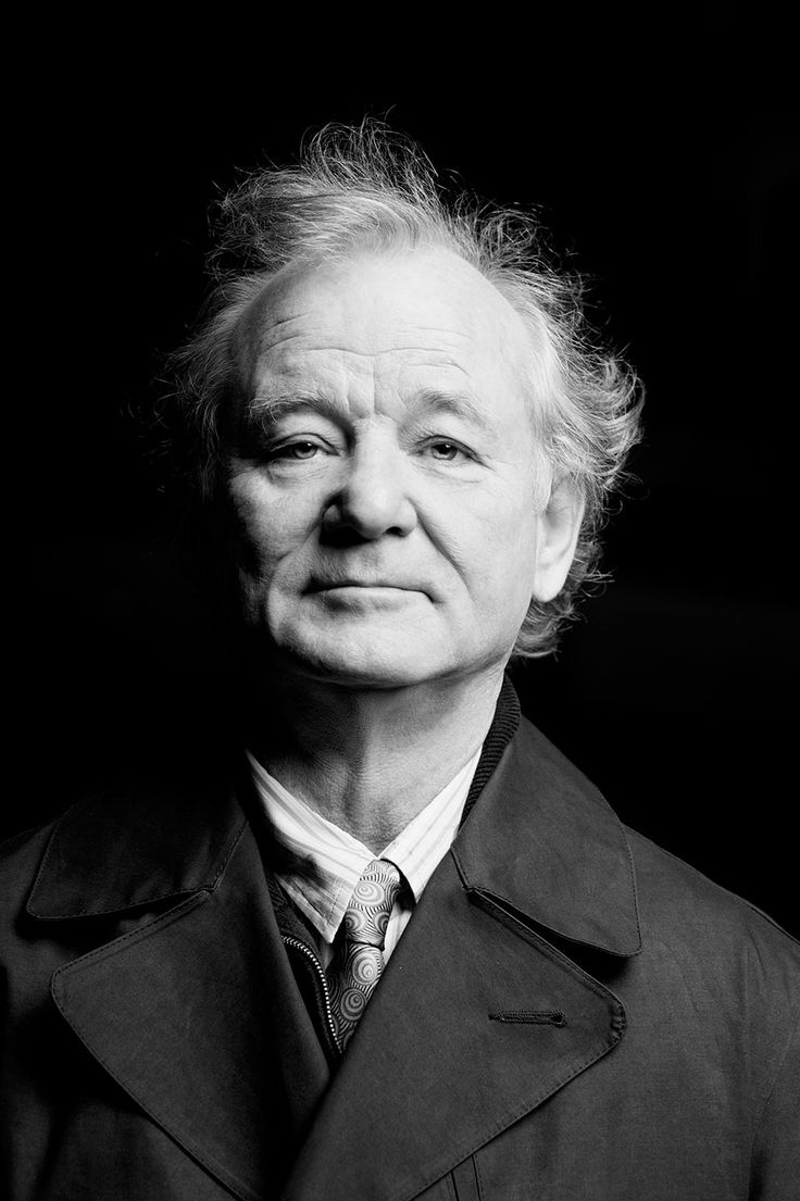 No one makes me feel better about getting old than Bill Murray. Wisdom and fuck you in one shot, by Gianmarco Chieregato