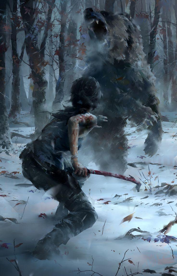 Rise of the Tomb Raider Concept Art + Camilla Luddington returns