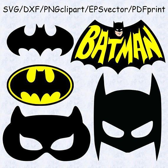Batman SVG DXF clipart vector batman mask svg batman logo