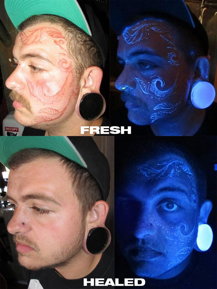 Let's face it-- face tattoos are not always the best idea. Well, unless you are one of these 20 individuals with epically artistic face ink....
