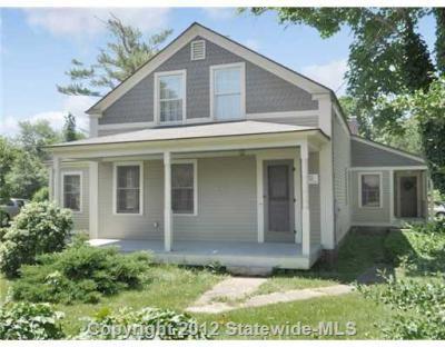 Gray cottage