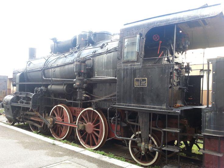 Il Museo ferroviario di Trieste