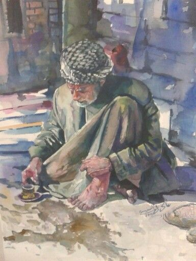 Iraqi art by Adel Askar