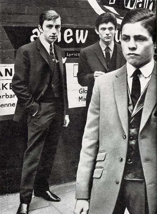 A VERY young Marc Bolan (on the right).