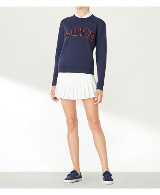 Tory Navy Tory Sport Letterman Crew