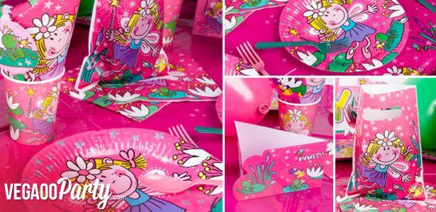 """Addobbi e decorazioni per feste a tema """"Fatina rosa"""" su VegaooParty"""