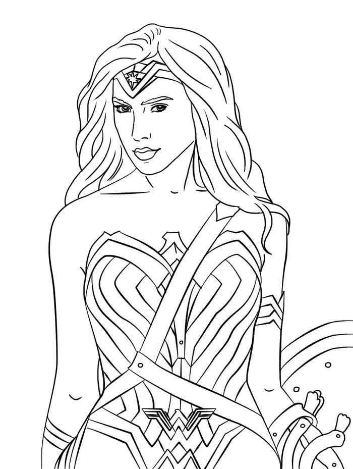 Wonder Woman 1984 Coloring Pages Superhero Coloring Pages Coloring Pages Superhero Coloring