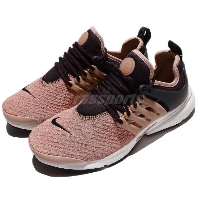 3524235b4f9 Wmns Nike Air Presto Port Wine Particle Pink Women Shoes Sneakers 878068-604
