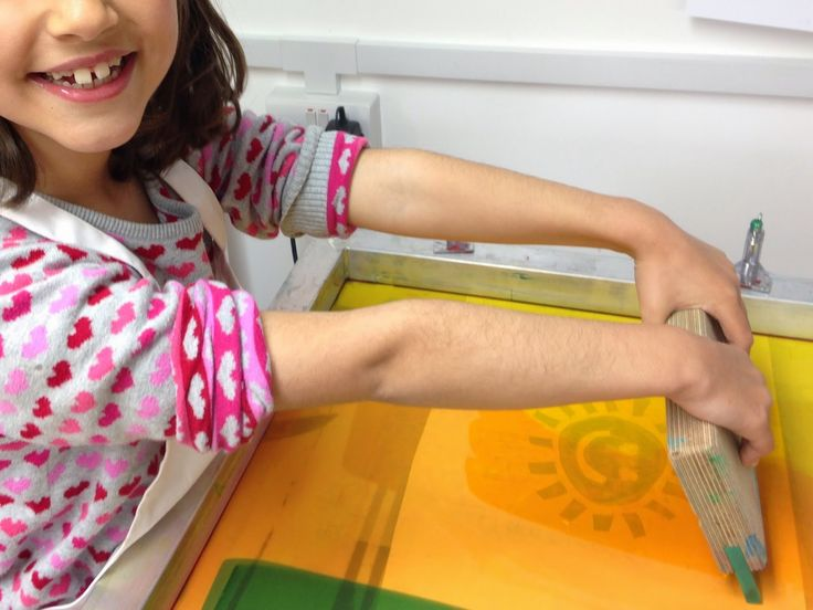 370 best ideas printmaking images on pinterest - Printing With Children