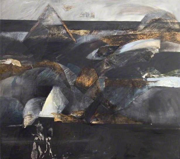 Barbara Rae- Black Pyramid, 1978.