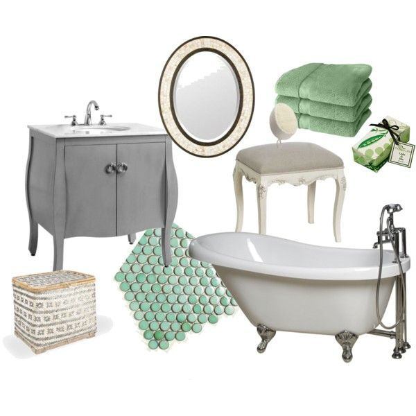 Best Bathroom Mint And Gray Images On Pinterest Bathroom