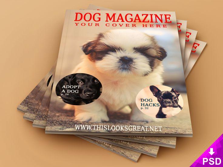 Magazine Cover Interior Mock-Up