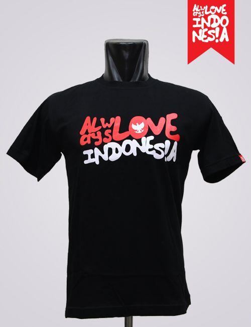 Always Love Indonesia Black #AlwaysLoveIndonesia #ProudToBeIndonesian
