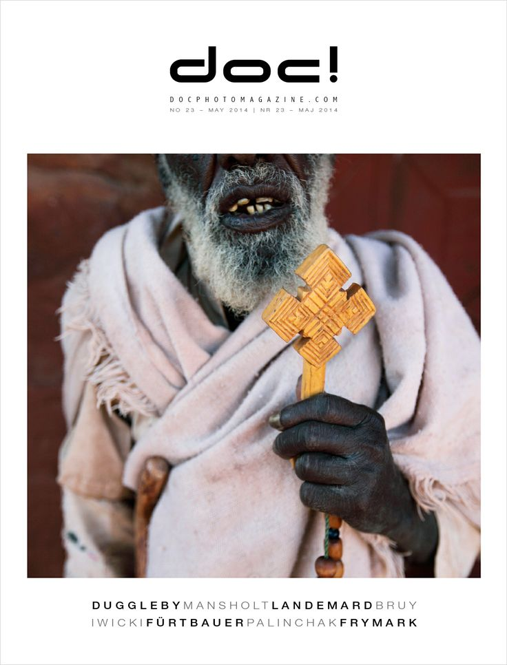 doc! photo magazine #23 - the cover Cover photo: Luke Duggleby