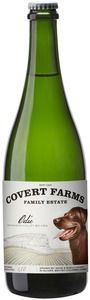 Covert Farms Family Estate - NV Odie Sparkling - Oliver, BC - Traditional methode Pinot Blanc sparkling wine. Crisp, dry and lively. #bcwine #bc #okanagan #sparkling #organic