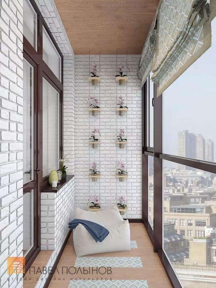 Фото интерьер лоджии из проекта «Двухуровневая квартира в неоклассическом стиле, ЖК «Жилой дом на Пионерской», 208 кв.м.»