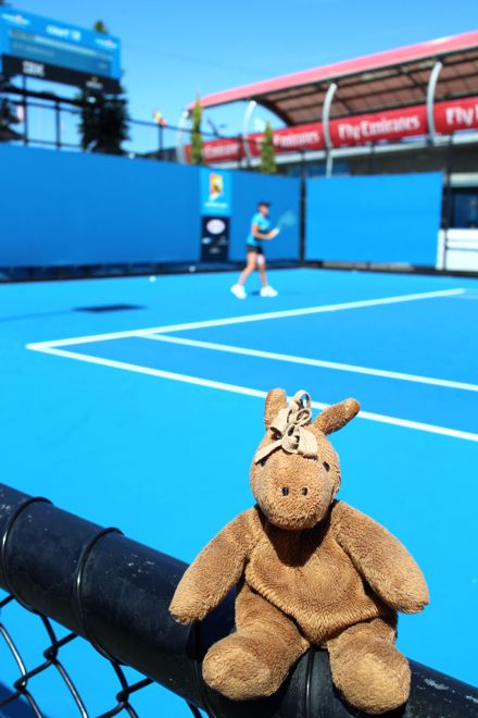 Game, set, match! Khalid loved his time at the Australian Open tennis this year. #travel #travelwithkids #familytravel #familyholidays #familyvacations #tennis #Australia #Melbourne #AusOpen http://www.suitcasesandstrollers.com/articles/view/australian-open-tennis-with-kids