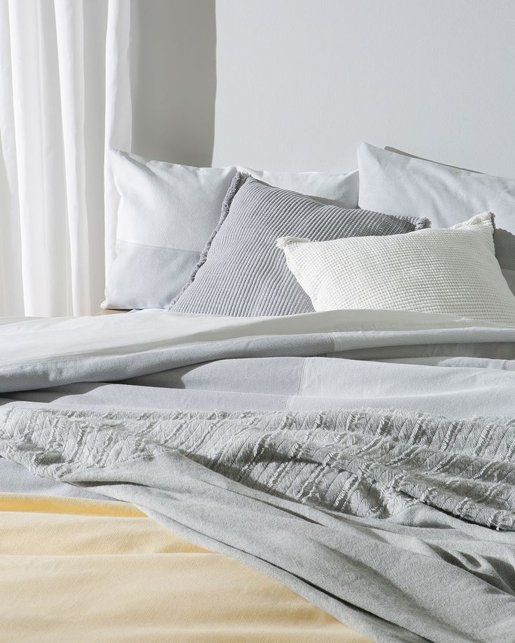 As the cold, wet winter days begin to set in use tactile weaves and soft wools to create warmth in the home.