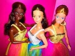 Christie, P.J & Barbie fashion photo 1977