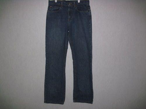 Ralph Lauren Polo Jeans Company Womens Jeans Size 6 x 29 Denim 100% Cotton #PoloRalphLauren #BootCut