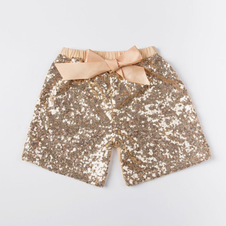 Hot selling baby broek jongens meisjes shorts kinderen broeken sequin korte voor kinderen baby meisjes kostuums kleding