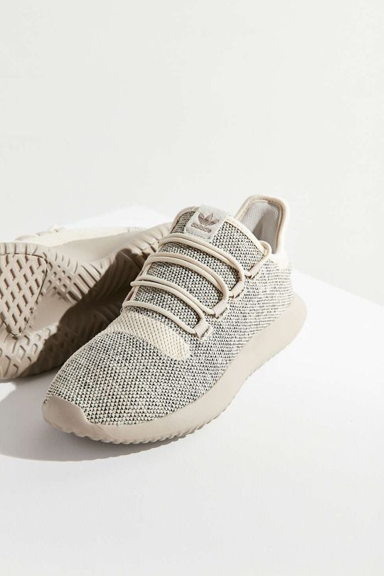 PAY ATTENTION- adidas Tubular Shadow Knit Tan