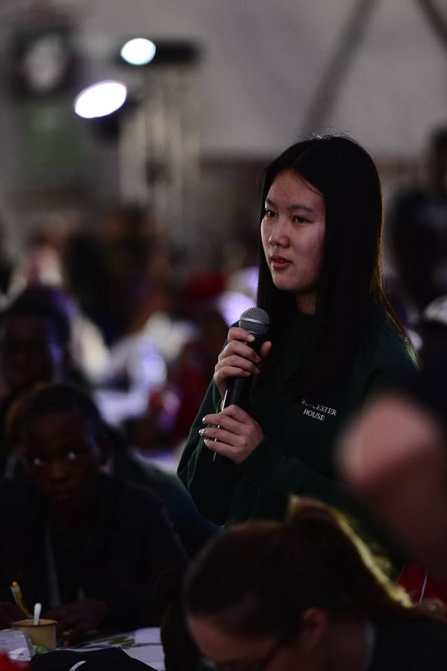 One of our Rhino Warriors from Shanghai www.youthrhinosummit.com #rhino #wildlife