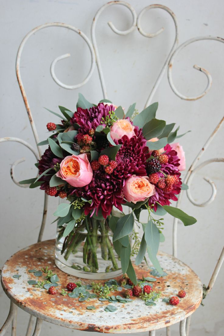 best fleurs et vases images on pinterest